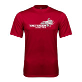Performance Cardinal Tee-Track & Field