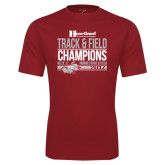 Syntrel Performance Cardinal Tee-Heartland Conference Tournament Champions Mens Indoor Track and Field 2017