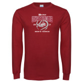 Cardinal Long Sleeve T Shirt-2017 HCAC Mens Tennis Champions