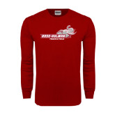 Cardinal Long Sleeve T Shirt-Track & Field
