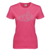 Ladies Fuchsia T Shirt-Rosie