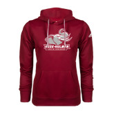 Adidas Climawarm Cardinal Team Issue Hoodie-Official Logo