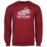 Cardinal Fleece Crew-Official Logo
