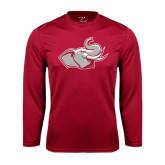 Syntrel Performance Cardinal Longsleeve Shirt-Rosie