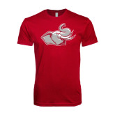 Next Level SoftStyle Cardinal T Shirt-Rosie