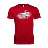 Next Level SoftStyle Cardinal T Shirt-Rosie