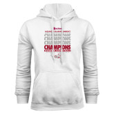 White Fleece Hoodie-2017 HCAC Tournament Champions Repeating - Womens Basketball