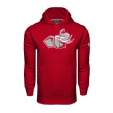 Under Armour Cardinal Performance Sweats Team Hoodie-Rosie
