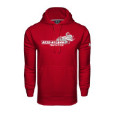Under Armour Cardinal Performance Sweats Team Hoodie-Track & Field