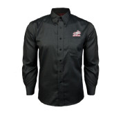 Red House Black Long Sleeve Shirt-Rosie with Rose-Hulman