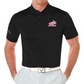 Callaway Opti Vent Black Polo-Rosie with Rose-Hulman
