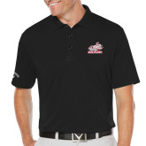 Callaway Opti Dri Black Chev Polo-Rosie with Rose-Hulman
