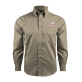 Red House Tan Long Sleeve Shirt-Rosie with Rose-Hulman