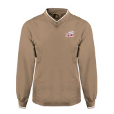 Khaki Executive Windshirt-Rosie with Rose-Hulman