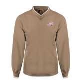 Khaki Executive Windshirt-Rosie