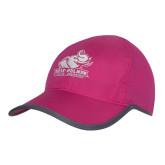 Pink/Charcoal Trail Blaze Cap-Official Logo