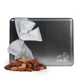 Deluxe Nut Medley Silver Large Tin-Rosie with Rose-Hulman Engraved