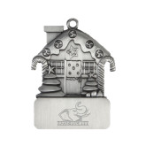 Pewter House Ornament-Rosie with Rose-Hulman Engraved