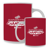Full Color White Mug 15oz-Mens Track And Field Champions