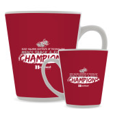 Full Color Latte Mug 12oz-Mens Track And Field Champions