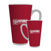 Full Color Latte Mug 17oz-2017 Mens Cross Country Champions