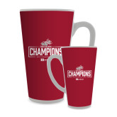 Full Color Latte Mug 17oz-Mens Swimming and Diving Champions