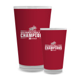 Full Color Glass 17oz-Womens Track and Field Champions