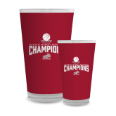 Full Color Glass 17oz-Womens Basketball Champions