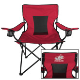 Deluxe Cardinal Captains Chair-Rosie with Rose-Hulman
