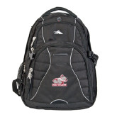 High Sierra Swerve Black Compu Backpack-Rosie with Rose-Hulman