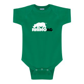 Kelly Green Infant Onesie-Primary Mark