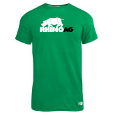 Russell Kelly Green Essential T Shirt-Primary Mark