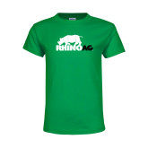 Youth Kelly Green T Shirt-Primary Mark