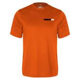 Performance Orange Tee-Wordmark