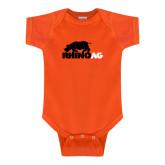 Orange Infant Onesie-Primary Mark