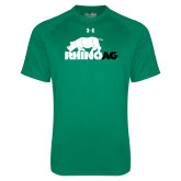 Under Armour Kelly Green Tech Tee-Primary Mark