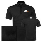 Columbia Black Omni Wick Sunday Golf Polo-Primary Mark