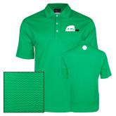 Nike Dri Fit Vibrant Green Pebble Texture Sport Shirt-Primary Mark