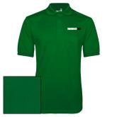 Kelly Green Dry Mesh Polo-Wordmark