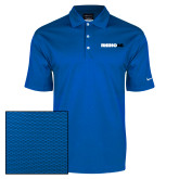 Nike Dri Fit Royal Pebble Texture Sport Shirt-Wordmark