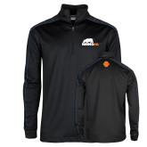 Nike Golf Dri Fit 1/2 Zip Black/Royal Pullover-Primary Mark