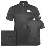 Adidas Climalite Charcoal Grind Polo-Primary Mark