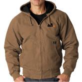 DRI DUCK Cheyenne Field Khaki Hooded Jacket-Primary Mark