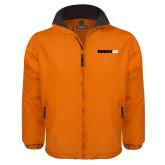 Orange Survivor Jacket-Wordmark