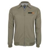 Khaki Players Jacket-Wordmark