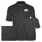 Nike Dri Fit Charcoal Pebble Texture Sport Shirt-Primary Mark