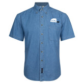Denim Shirt Short Sleeve-Primary Mark