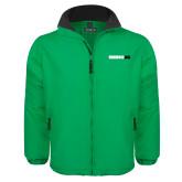 Kelly Green Survivor Jacket-Wordmark