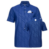 Nike Dri Fit Royal Embossed Polo-Primary Mark
