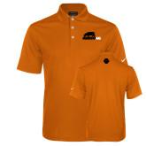 Nike Golf Dri Fit Orange Micro Pique Polo-Primary Mark